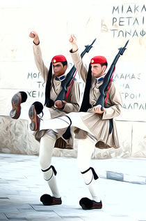 Greek guards von Andrew Michael