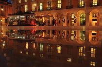 Night falls on Lisboa, Portugal by Joao Coutinho