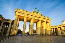 Brandenburg Gate in Berlin von Michael Abid