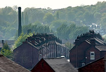 Potteries factory housing von Andrew Michael