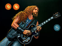 Zakk Wylde Painting by Paul Meijering