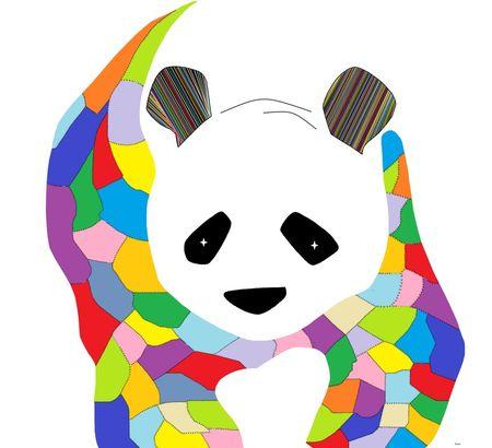 Patchwork-panda