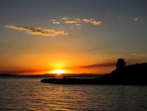 Fantastischer Sonnenuntergang am Titikakasee von mellieha