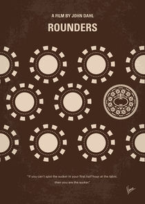 No503 My Rounders minimal movie poster von chungkong