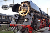Dampf-Schnellzug in Koblenz von shark24