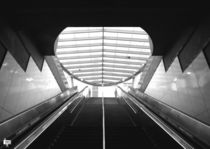 Pershing Square Metro Station Exit by Eric Havard