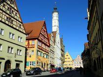 Die Herrngasse in Rothenburg ob der Tauber von gscheffbuch