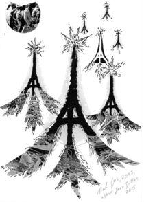 JE SUIS PARIS NOEL 2015 by Hal Jos