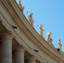 Statuen auf dem Petersplatz by cbies