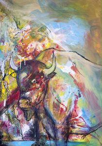 Bison in der Prärie von Josefine Neumann
