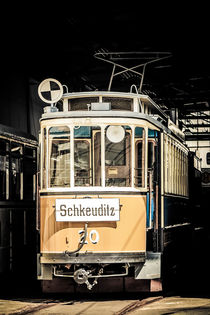 Historische Leipziger Tram II by Roland Hemmpel