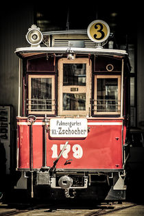Historische Leipziger Tram von Roland Hemmpel