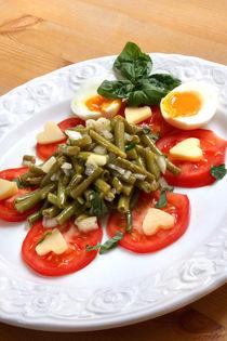 Herzhafter Bohnensalat mit Alpkäse by lizcollet