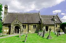 St Katherine's Church at Rowsley, Derbyshire von Rod Johnson