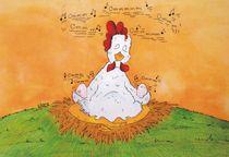 Eier aus meditativer Haltung von Clara Corinna Pelch