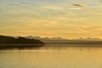 Abendstimmung am Ammersee by Peter Bergmann