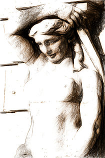'Blenham palace woman' by Andrew Michael