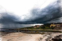 Stormy sky von Andrew Michael
