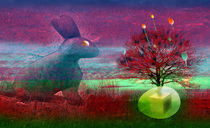 Hase sucht Ei | Ad Ovo | Rabbit Hole by artistdesign