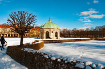 Hofgarten in the snow. by Andrew Michael