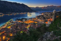 Kotor Bay & Sunset by Luis Henrique de Moraes Boucault