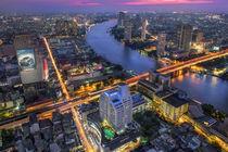 Bangkok & Blue Hour von Luis Henrique de Moraes Boucault