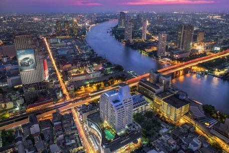 Bangkok-and-blue-hour