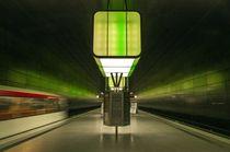 U Bahnhof Hafencity von Katja Bartz