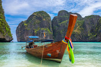 Maya Beach & Boat von Luis Henrique de Moraes Boucault