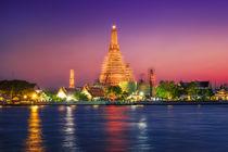 Bangkok & Sunset by Luis Henrique de Moraes Boucault