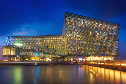 Harpa-and-blue-hour