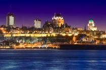 Quebec & Blue Hour von Luis Henrique de Moraes Boucault