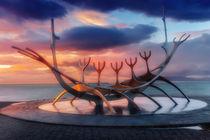 Reykjavik & Sunset von Luis Henrique de Moraes Boucault