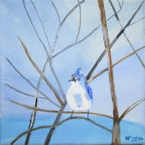 Blaumeise by Hildegard Fatahtouii