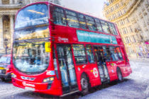 London Bus Art by David Pyatt