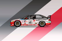 Bmw 3 Series E36 M3 GTS-2 PTG Race Car by monkeycrisisonmars