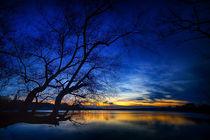Abends am See von Stefan Kierek