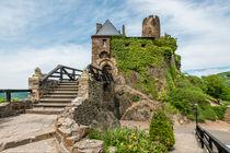 Burg Thurant - Eingang von Erhard Hess