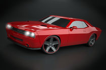 Dodge Challenger 2008 muscle car restyled by Nikola Novak