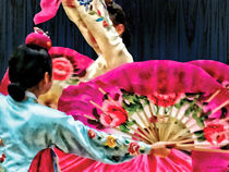 Traditional Korean Fan Dance by Susan Savad