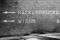 hackerbrücke von Hubert Glas