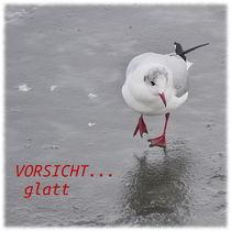 VORSICHT...glatt by Irmtraut Prien