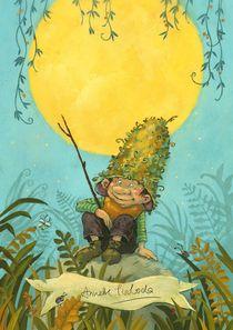Hörbe mit dem großen Hut von Annette Swoboda