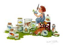 Der kleine Gott malt von Annette Swoboda