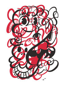 Doodle of the day – red version von favati