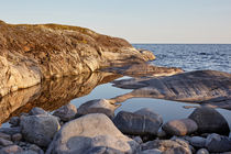 Ladoga lake, skerries ,Northern landscape von Maksim Drozdov