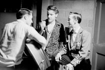 Elvis Presley, Gene Smith, Scotty Moore by Phillip Harrington
