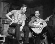 Elvis Presley and Gene Smith by Phillip Harrington