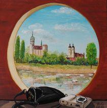 Blick auf Wittenberg von Barbara Kaiser