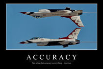 Accuracy Motivational Poster by Stocktrek Images